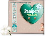 PAMPERS NATURELLO MINI Taglia 2 (3-6kg) 27 Pannolini - Farmamille