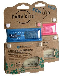 Efas Parakito Braccialetto Kids Plus Antizanzare Per Bambini