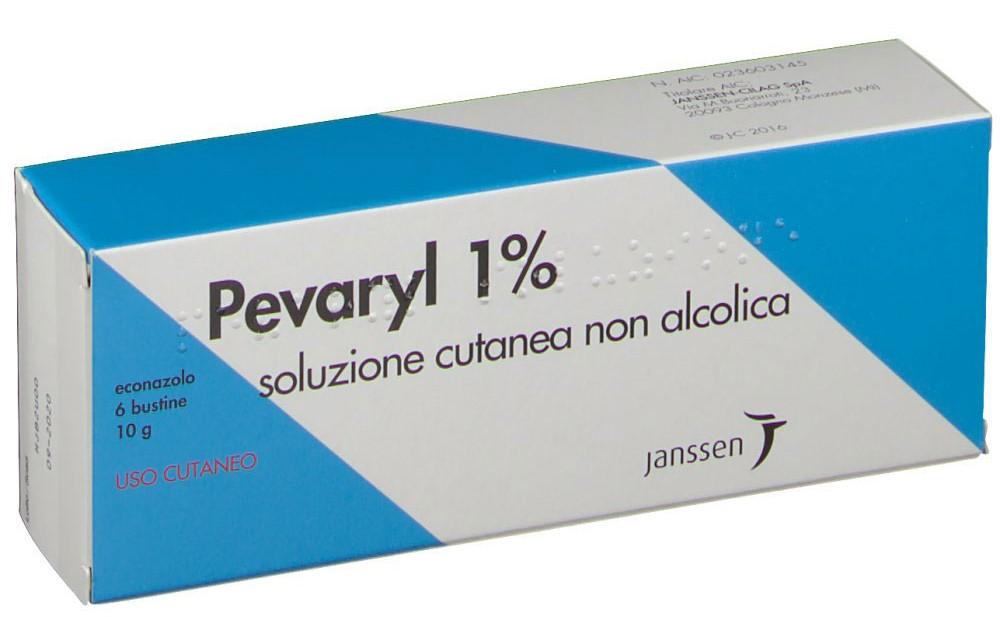 Pevaryl 1% Soluzione Cutanea 6 Bustine 10g - FARMAEMPORIO