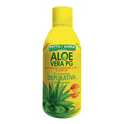 Phyto Garda Aloe Vera Pg Succo Depurazione Organismo 500ml - La tua farmacia online