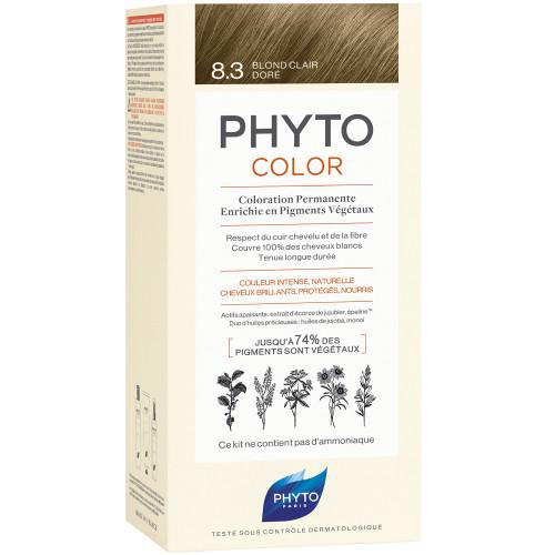 PHYTOCOLOR 8.3 BIONDO CHIARO DORATO - Farmamille