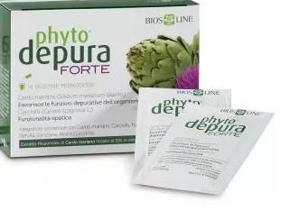 PHYTODEPURA FORTE 14 BUSTINE - Farmacento