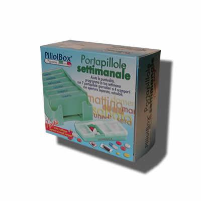 PILLOLIERA PILLOLBOX CONTENITORE 7GIORNI MADE IN ITALY - Farmamille