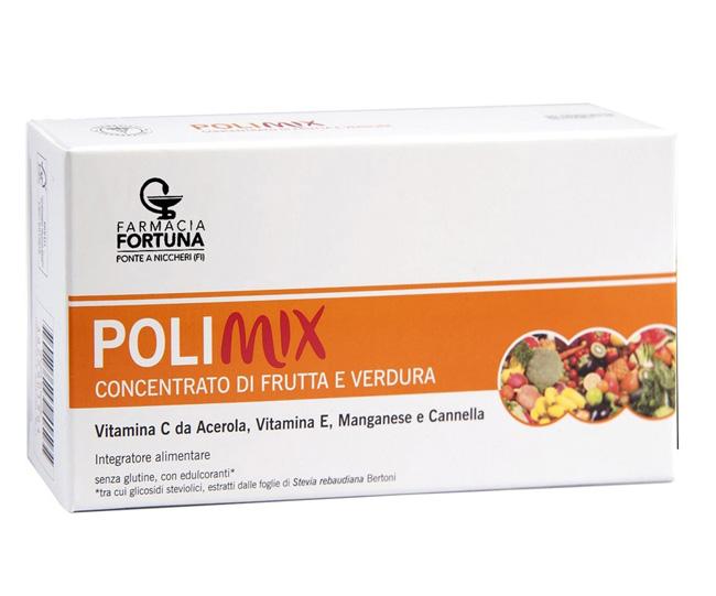 TuaFarmaonLine Polimix Integratore Concentrato di Frutta e Verdura 30 Tavolette - La tua farmacia online