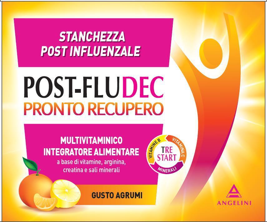 Postfludec Pronto Recupero 12 Bustine - Zfarmacia