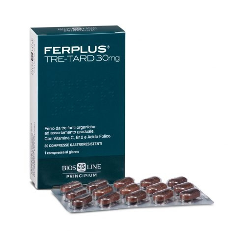 BIOS LINE PRINCIPIUM FERPLUS TRE RETARD 30MG 30 COMPRESSE - Farmastar.it