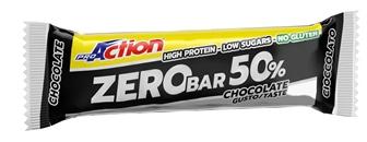 ProAction ProMuscle Zero Bar 50% Barretta 60gr Gusto Cioccolato - La tua farmacia online