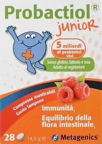 PROBACTIOL JUNIOR 28 COMPRESSE MASTICABILI NEW - Farmamille