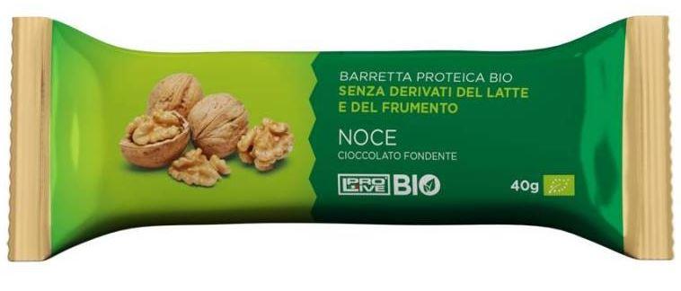PROLIVE BIO CIOCCOLATO FONDENTE E NOCE 40 G - Farmacia 33