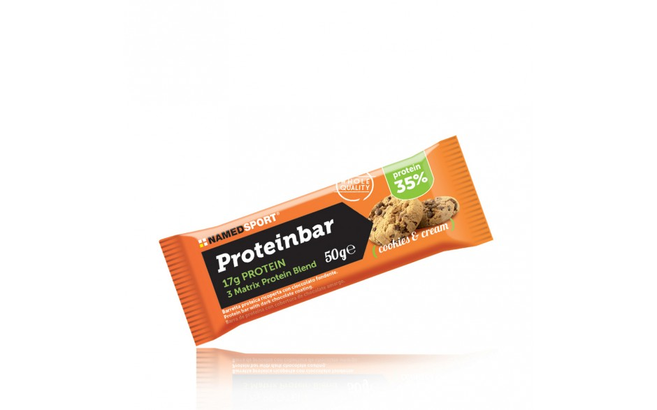 NAMED SPORT PROTEINBAR COOKIES & CREAM 50 G - Farmastar.it