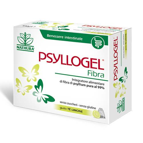 Psyllogel Fibra Te Limone Integratore 20 Bustine 100gr - Farmastar.it