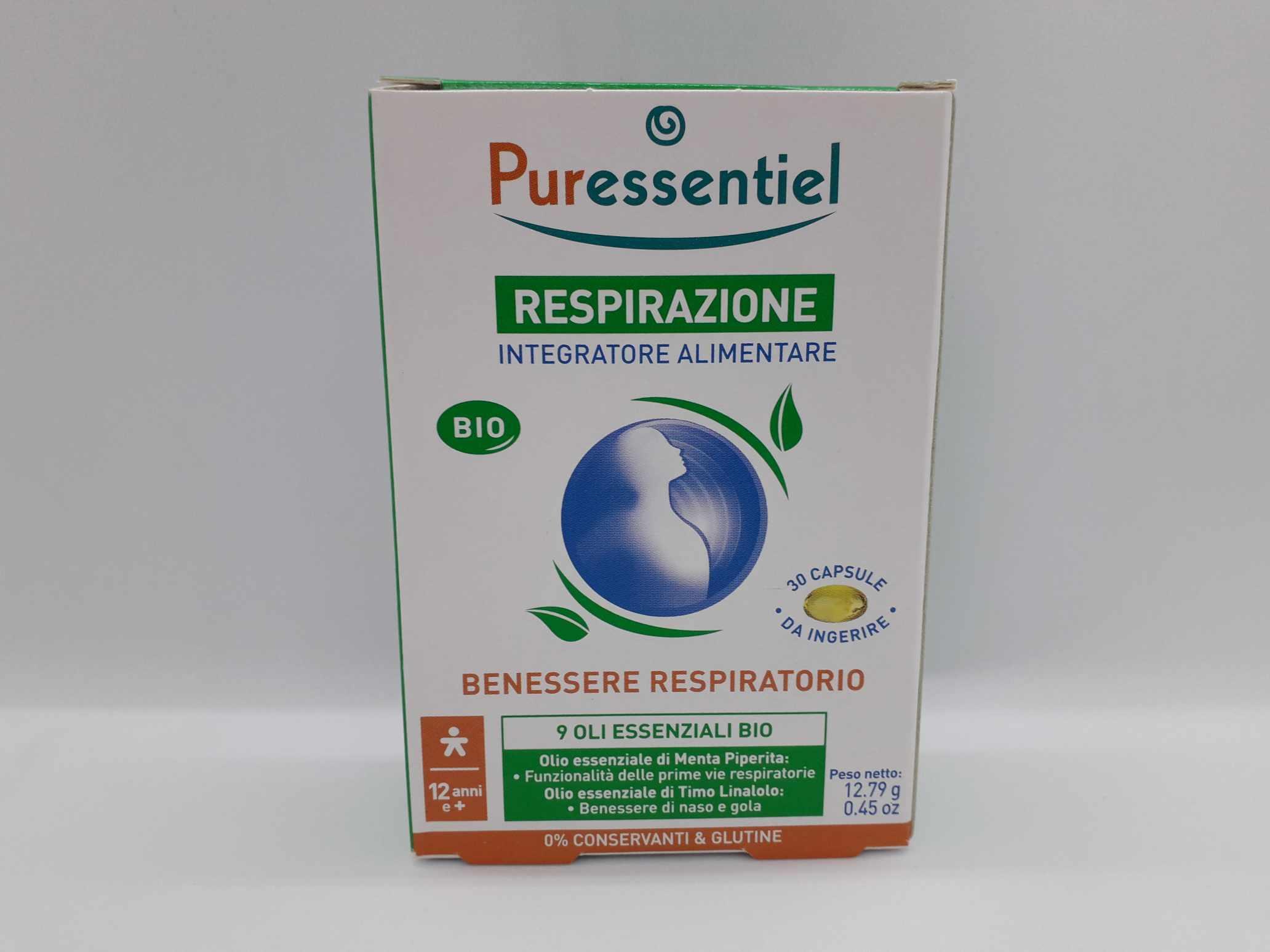 PURESSENTIEL CAPSULE INTEGRATORE RESPIRAZIONE CAPSULE - Farmaciaempatica.it