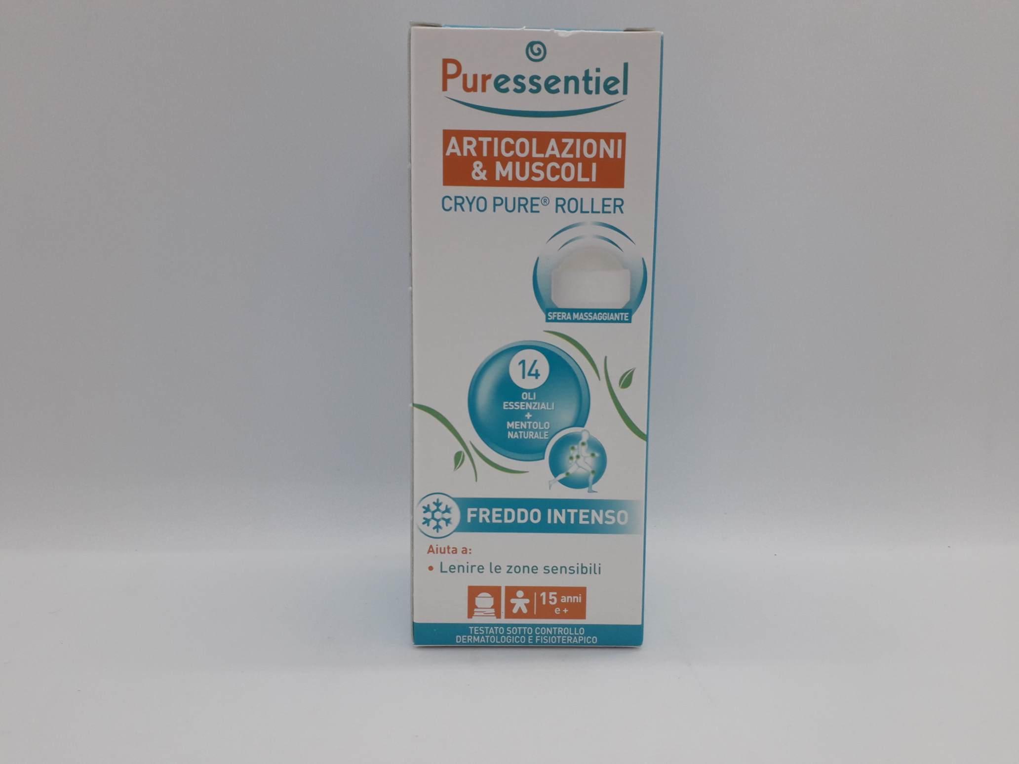 PURESSENTIEL PURE CRYO ROLLER 75 ML - Farmaciaempatica.it