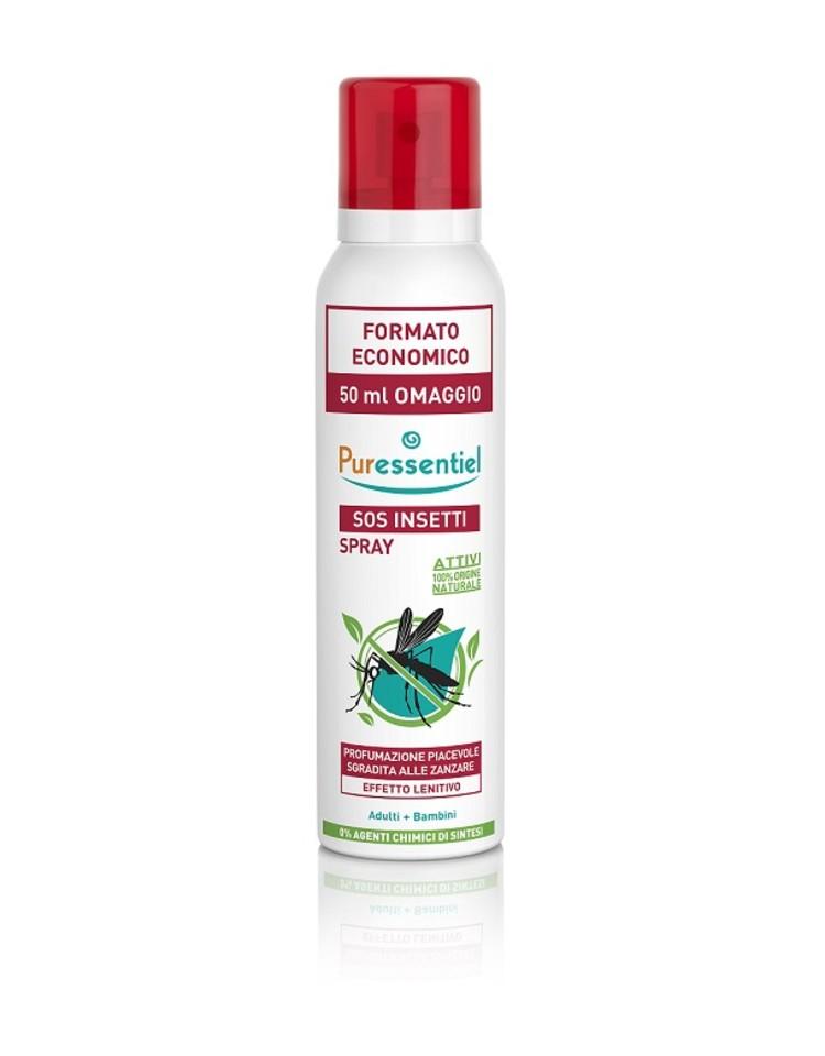 Puressentiel Sos Insetti Spray Agli Oli Essenziali  200ml - Farmacia 33