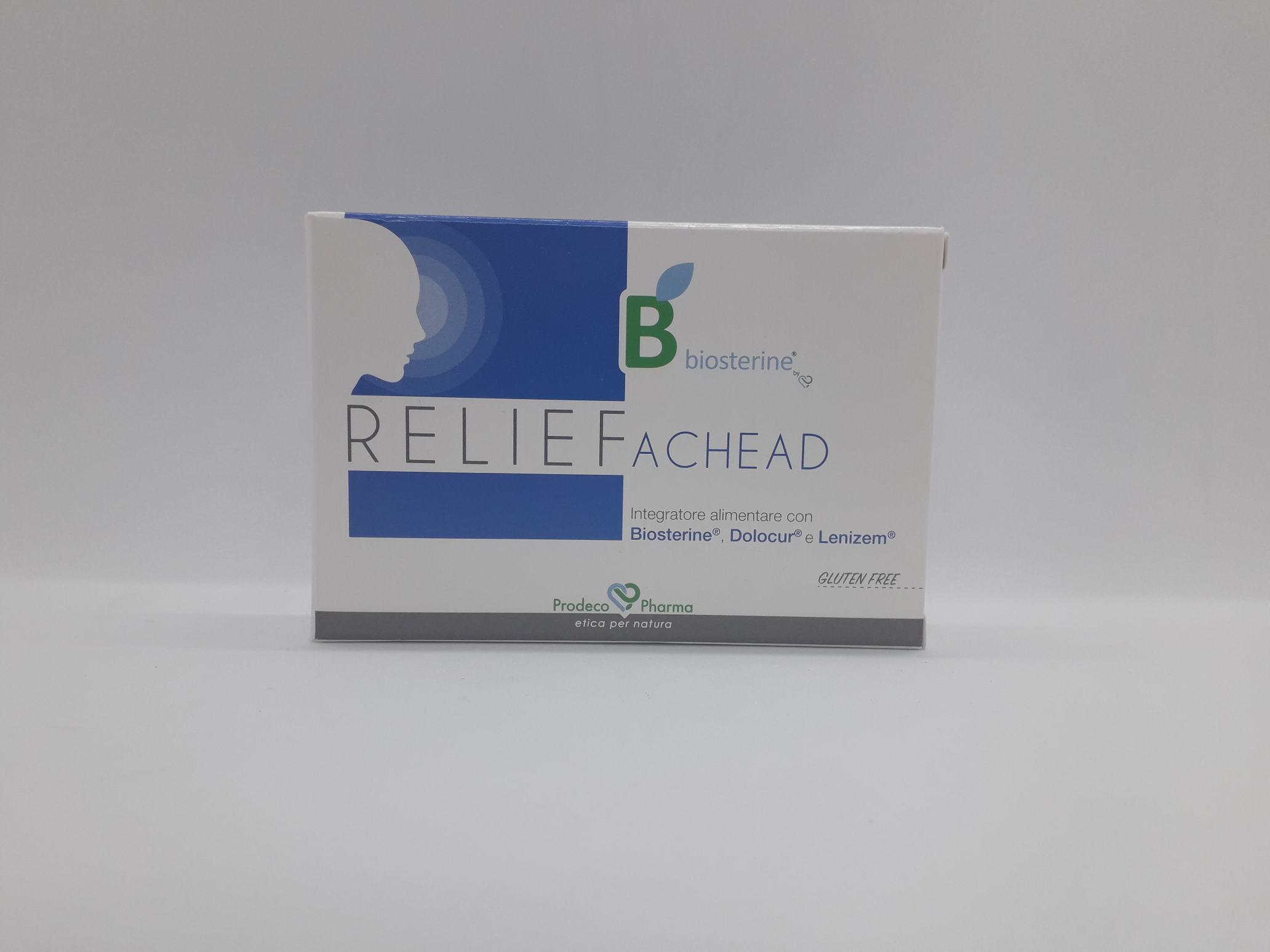 RELIEF BIOSTERINE ACHEAD 6 COMPRESSE - Farmaciaempatica.it