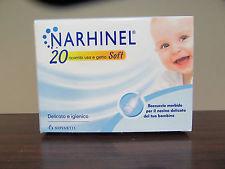 Narhinel Linea Pulizia Salute del Naso 20 Ricambi Soft per Aspiratore Nasale - Zfarmacia