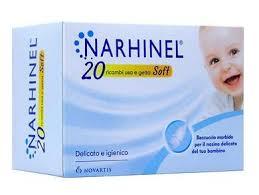 RICARICA USA E GETTA PER ASPIRATORE NASALE NARHINEL 20 PEZZI USA E GETTA SOFT - Farmamille