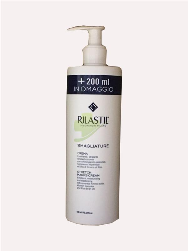 Rilastil Smagliature Crema Corpo 200 ml + 200 ml gratis (400 ml) - Zfarmacia