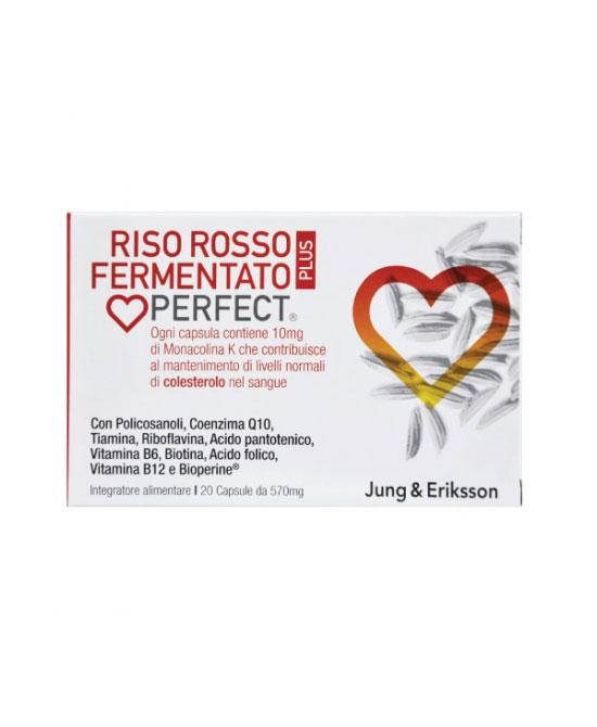 Riso Rosso Fermentato Plus J & E 20 capsule - La tua farmacia online