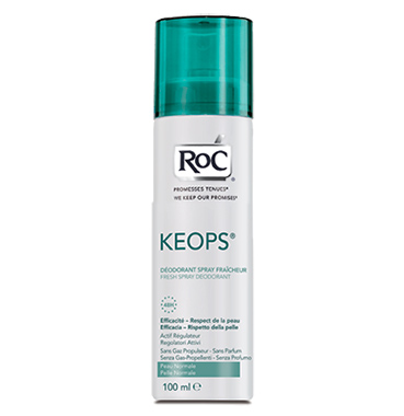ROC Keops Deodorante Delicato Pelli Sensibili Spray Fresco 100 ml - Farmastar.it