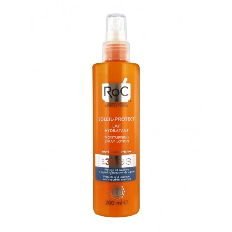 Roc Solari  Latte Idratante Spray SPF30 200ml - Farmamille