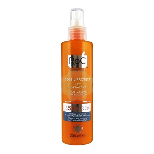 Roc Solari Lozione Spray Elevata Tollerabilità SPF50+ 200ml - Farmamille