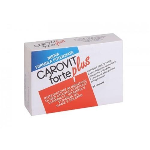 Carovit Forte Plus  30 compresse - Zfarmacia