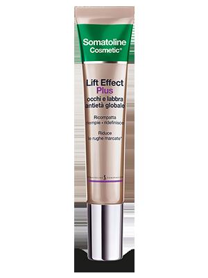 Somatoline Cosmetic Lift Effect Plus Occhi e Labbra Antietà Globale 15 ml - La tua farmacia online