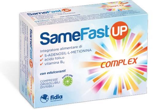 Samefast Up Complex Integratore Alimentare 20 Compresse Orosolubili  - Farmacia 33