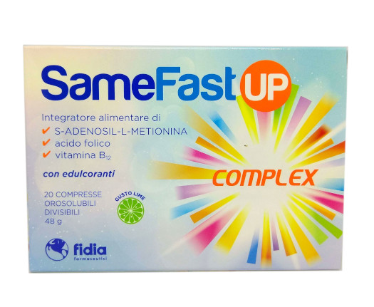 SAMEFAST UP 20 COMPRESSE OROSOLUBILI - Farmamille
