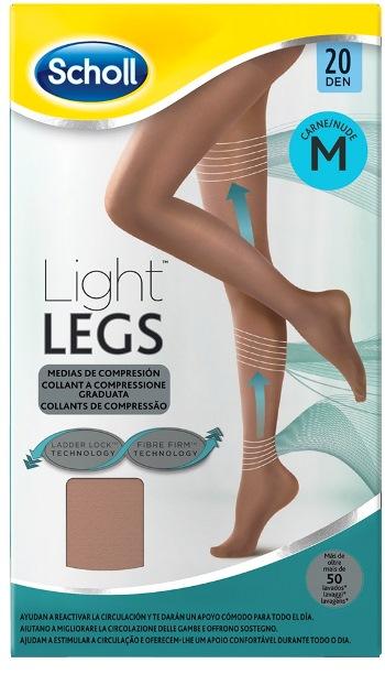Scholl Lightlegs 20 Denari Taglia M Colore Nude 1 Paio - Farmalilla