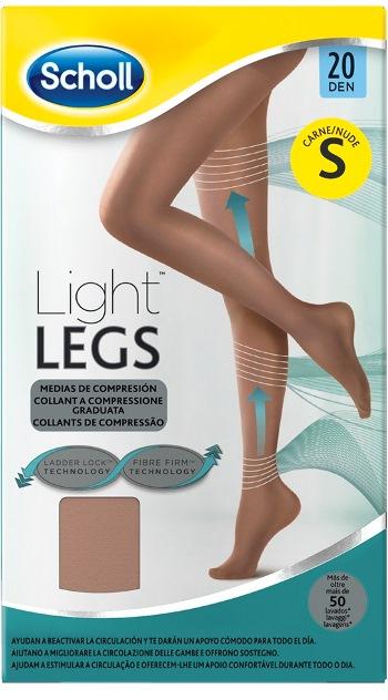 Scholl Lightlegs 20 Denari Taglia S Colore Nude 1 Paio - Farmalilla