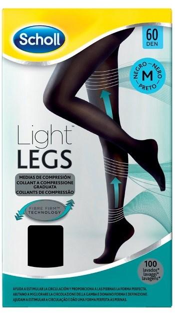 SCHOLL LIGHTLEGS 60 DENARI TAGLIA M COLORE NERO 1 PAIO - Farmamille