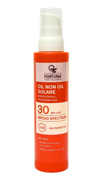 TuaFarmaOnline Oil Non Oil Solare Protezione Alta SPF30 Corpo e Capelli 150 ml - La tua farmacia online