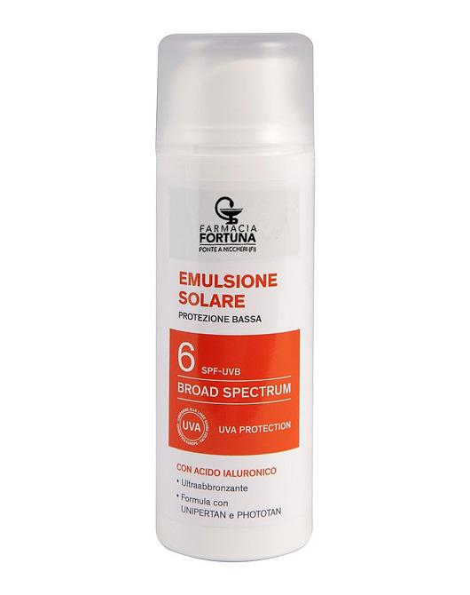 TuaFarmaonLine Emulsione Solare Antiossidante Protezione Bassa SPF6 da 150 ml - La tua farmacia online