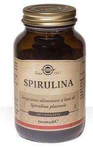 Solgar Spirulina 100 Tavolette - Farmacia 33