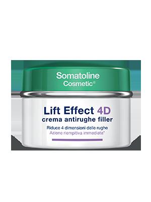 Somatoline Cosmetic Lift Effect 4D Crema Giorno Antirughe Filler Viso 50 ml - La tua farmacia online