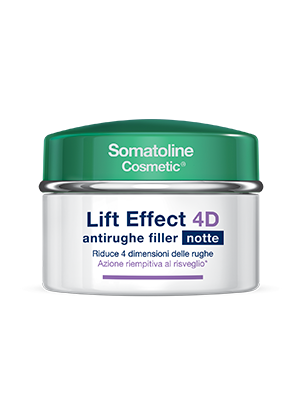 Somatoline Cosmetic Lift Effect 4D Antirughe Filler Viso Notte 50 ml - La tua farmacia online