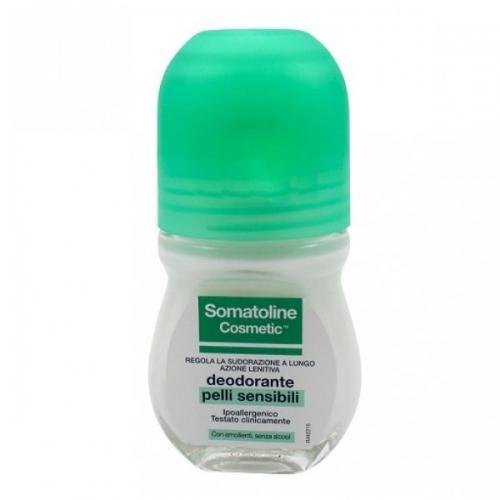 SOMATOLINE COSMETIC DEODORANTE PELLI SENSIBILI ROLL ON 50 ML - Farmacia 33