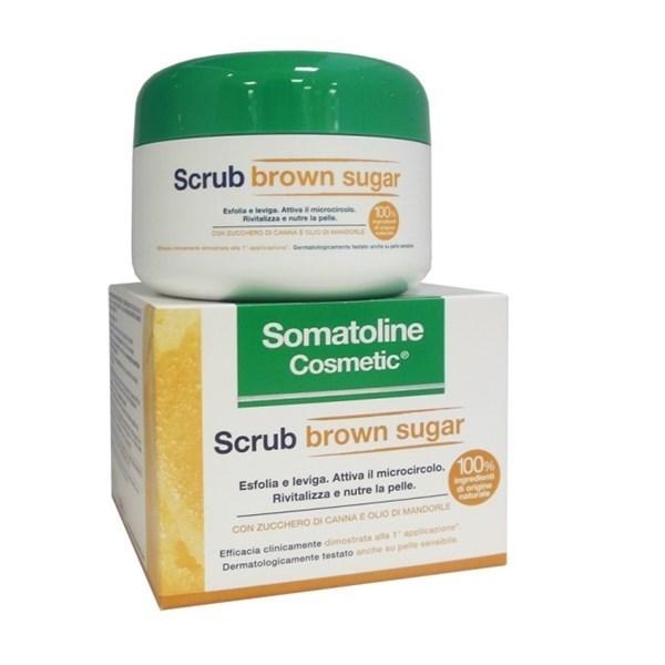 SOMATOLINE COSMETIC SCRUB BROWN SUGAR 350 G - Farmamille