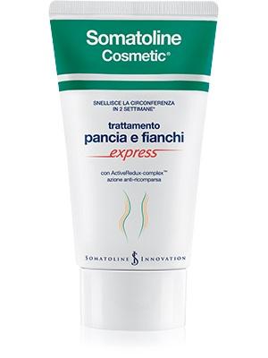 SOMATOLINE COSMETIC SNELLENTE PANCIA E FIANCHI EXPRESS 250 ML - Farmamille