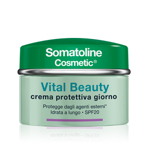 SOMATOLINE COSMETICS VISO Vital Beauty Crema Giorno SPF20 50ml - Farmamille