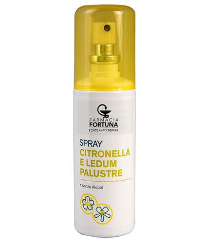 TuaFarmaonLine Spray Insetti Citronella Ledum Palustre Lozione Protettiva 100ml - La tua farmacia online