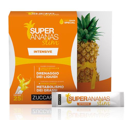 Zuccari Super Ananas Slim Intensive Drenaggio Liquidi 250 ml - La tua farmacia online