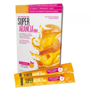 Super Arancia 1000 Integratore Alimentare 10 Stick Pack - Farmacia 33