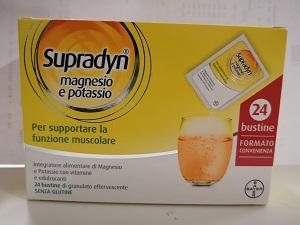 SUPRADYN MAGNESIO POTASSIO 24 BUSTINE - Zfarmacia