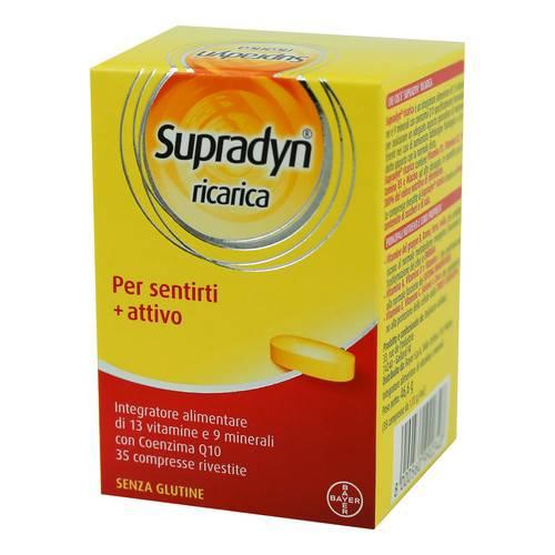 Supradyn Ricarica Integratore Alimentare 35 Compresse Rivestite - Farmamille