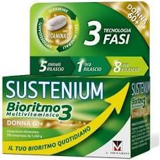 SUSTENIUM BIORITMO3 DONNA 60+ 30 COMPRESSE - Farmacento