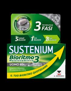 SUSTENIUM BIORITMO3 UOMO 60+ 30 COMPRESSE - Farmacento