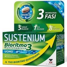 SUSTENIUM BIORITMO3 UOMO ADULTO 30 COMPRESSE - Farmacento